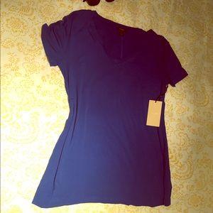 NWT halogen shirt. Size XL blue